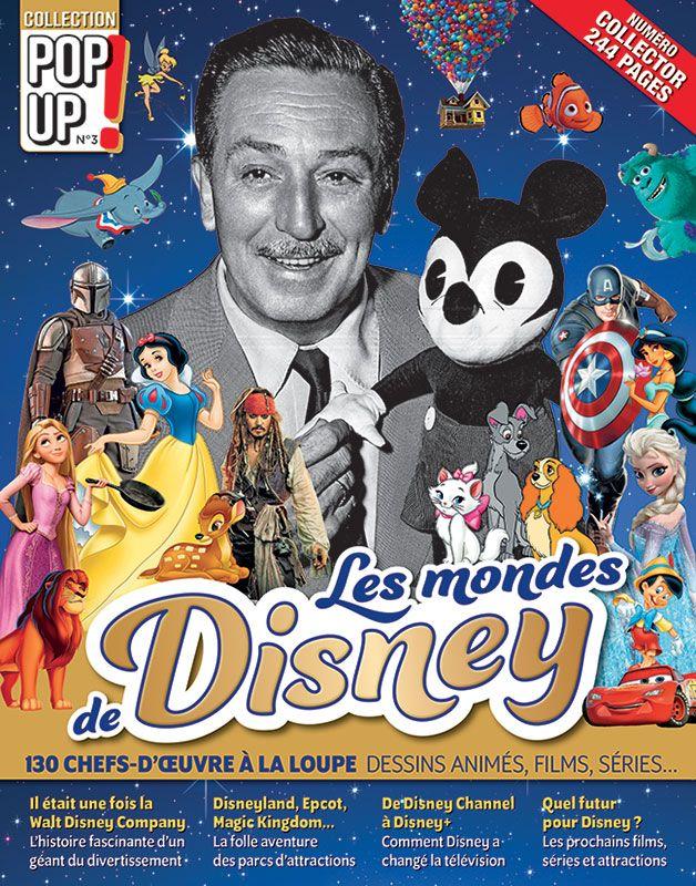 Les Mondes de DISNEY : dessins animés, films, séries - Collection Pop Up n°3