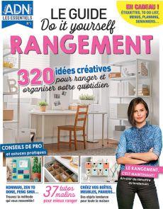 Le Guide DIY du RANGEMENT - 320 idées créatives pour organiser votre quotidien