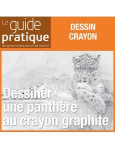 Dessiner une panthère au crayon graphite - Guide Pratique Numérique
