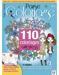 Pause Coloriage n°5 - 110 coloriages anti-stress