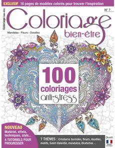 Coloriage bien-être n°7 - 100 coloriages anti-stress