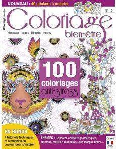 100 coloriages anti-stress - Coloriage Bien-être n°10