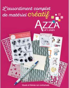 Assortiment complet de matériel créatif AZZA