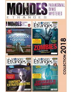 Collection 2018 MONDES ETRANGES - 4 Numéros collector