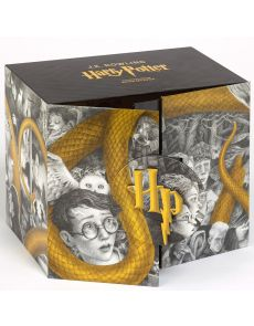 Harry Potter Intégrale - Coffret en 7 volumes - Avec 1 frise de l'artiste et les quatre blasons des maisons - Edition collector - J.K. Rowling