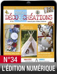 TÉLÉCHARGEMENT : Atelier Déco et Créations 34 en version numérique