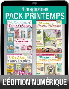 Téléchargement : le Pack CARTES CRÉATIVES spécial Printemps