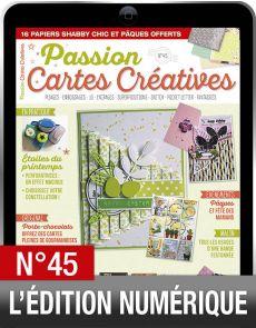 TÉLÉCHARGEMENT : Passion Cartes Créatives 45 en version numérique