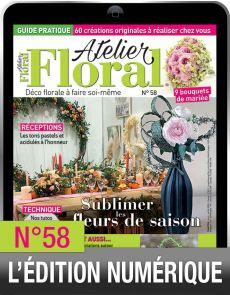 TÉLÉCHARGEMENT : Atelier Floral 58 en version numérique