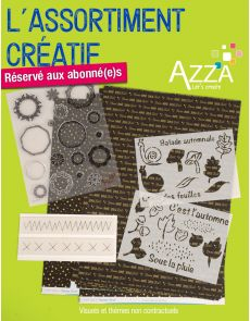 Assortiment matériel créatif AZZA
