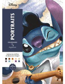 Disney Portraits - Coloriages mystères - Christophe-Alexis Perez