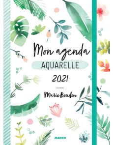 Mon agenda aquarelle 2021 - Marie Boudon