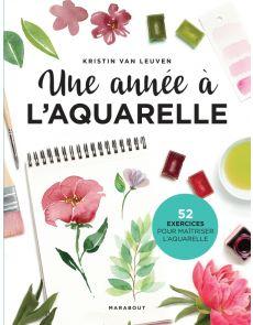 Une année à l'aquarelle - Kristin Van Leuven, Audrey Dinghem (Traducteur)