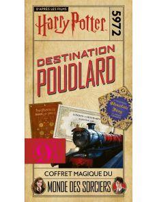 Harry Potter - Destination Poudlard. Coffret magique du Monde des Sorciers