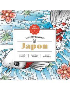 Japon - Les petits carrés d'Art-thérapie - nouvelle édition - Christophe-Alexis Perez