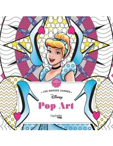 Grands Carrés Disney Pop Art - Coloriages anti-stress - Nathalie Lavaud