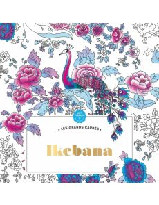 Ikebana - Coloriages anti-stress - Jessica Masia