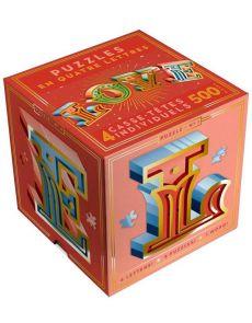 Puzzle Love - 4 casse-têtes lettres
