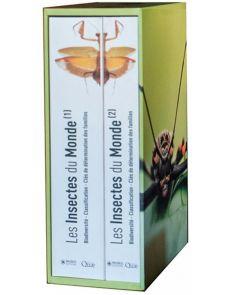 Les insectes du monde - Coffret en 2 volumes - Henri-Pierre Aberlenc, Patrick Blandin (Préfacier)