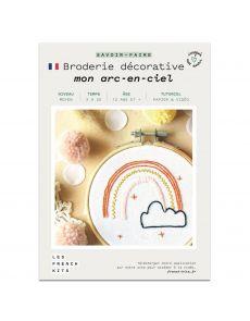 Kit Broderie Arc en ciel - French Kits