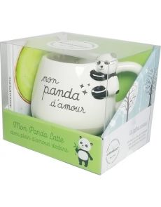 Coffret mug panda - matcha latte & cie - Amandip Uppal