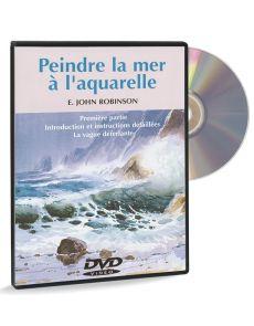 Peindre la mer à l'aquarelle 1ère partie – DVD