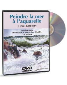 Peindre la mer à l'aquarelle 2ème partie – DVD
