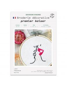Kit Broderie Premier Baiser - French Kits