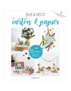 Le Grand Livre Créatif du Papier & Carton - 55 créations faciles - Hélène Jourdain