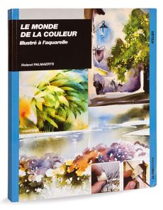 Le monde de la couleur illustré à l'aquarelle