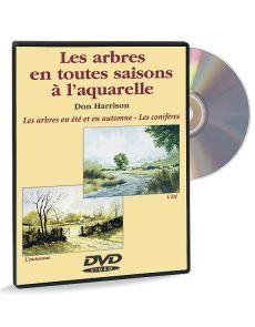 Les arbres en toutes saisons à l'aquarelle - Eté Automne – DVD
