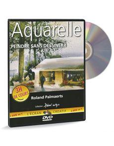 Aquarelle peindre sans dessiner - DVD