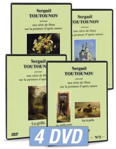 Serguei Toutounov - Coffret 4 DVD - Série 1