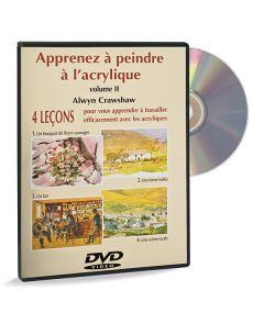 Apprenez à peindre à l'acrylique - volume 2 – DVD