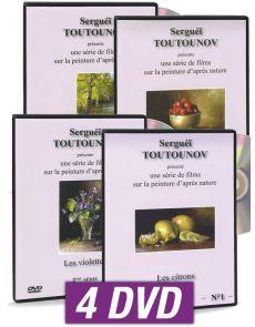Sergueï Toutounov  - Coffret 4 DVD - Serie 2