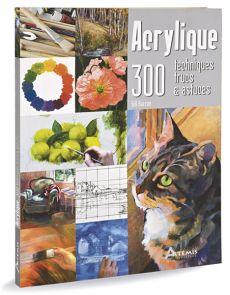 Acrylique - 300 techniques, trucs et astuces