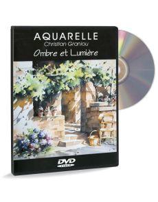 Christian Graniou - Aquarelle, Ombres et lumière - DVD