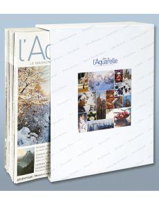 L'écrin collector L'Art de l'Aquarelle - Reliure pour 12 magazines