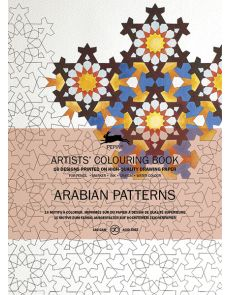 Artists' colouring book - Arabian patterns