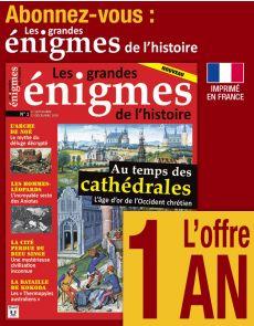 Abonnement 1 AN Les grandes Énigmes de l'Histoire