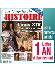 Abonnement 1 AN La Marche de l'Histoire