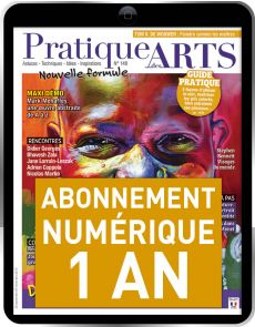 Abonnement 1 AN à la version Numérique du magazine Pratique des Arts