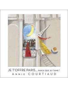 Je t'offre Paris parce que je t'aime - Livre accordéon