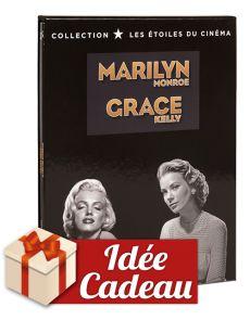Coffret collector Les Etoiles du Cinéma - Marilyn Monroe et Grace Kelly