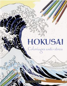 HOKUSAI - Coloriages anti-stress