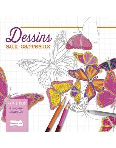 Dessins aux carreaux - A compléter et à colorier