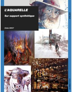 L'aquarelle sur support synthétique