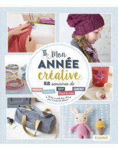 Mon année créative : DIY, couture, tricot, point de croix, crochet