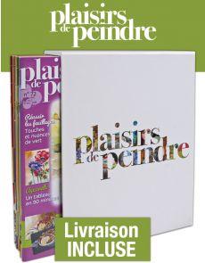 L'écrin collector Plaisirs de peindre - Reliure pour 12 magazines