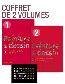 Peinture et dessin - Vocabulaire typologique et technique - COFFRET de 2 volumes